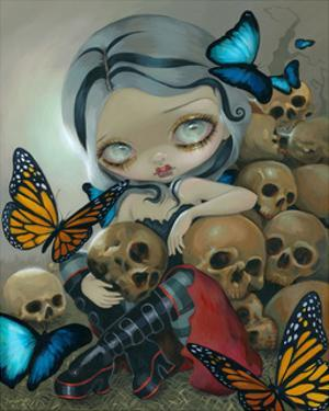 Butterflies and Bones by Jasmine Becket-Griffith