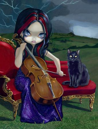 Cello Storm by Jasmine Becket-Griffith