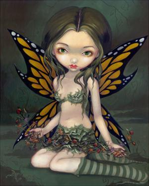 Fairy with Dried Flowers by Jasmine Becket-Griffith