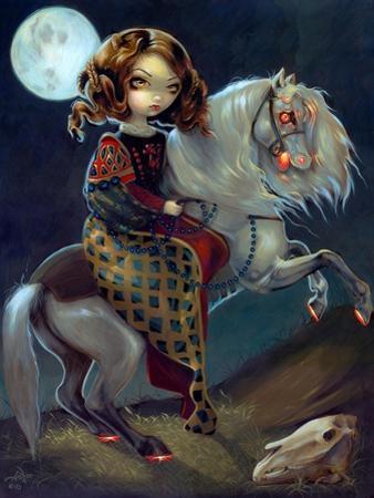 I Vampiri: Notte a Cavalla by Jasmine Becket-Griffith