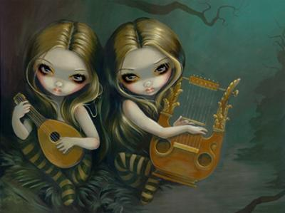 Lute and Lyre by Jasmine Becket-Griffith