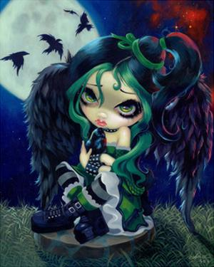 Perched and Sat and Nothing More by Jasmine Becket-Griffith