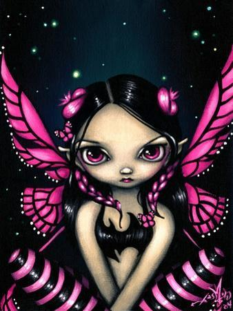 Pink Butterfly Fairy by Jasmine Becket-Griffith
