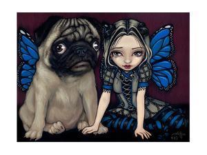 Pug Pixie by Jasmine Becket-Griffith
