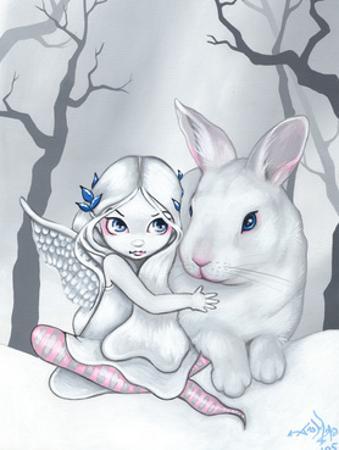 Snow Bunny by Jasmine Becket-Griffith