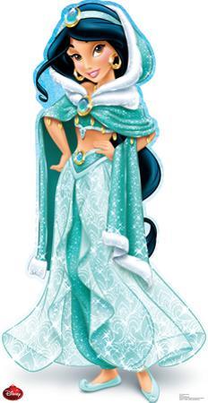 Jasmine Holiday - Disney Lifesize Standup
