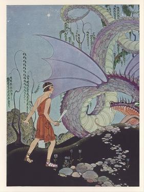 Jason and Colchian Dragon