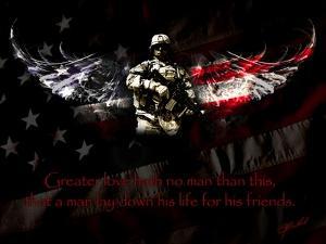 American Soldier by Jason Bullard