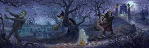 Halloween Scene by Jason Bullard