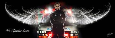 No Greater Love - Female EMT by Jason Bullard