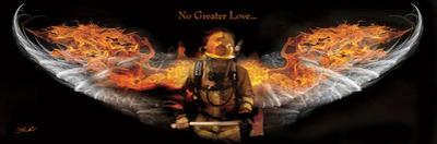 No Greater Love (Fireman) by Jason Bullard