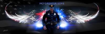 No Greater Love (Police) by Jason Bullard