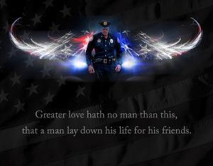 No Greater Love (Police) by Jason Bullard