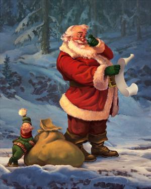 Santa List 2013 by Jason Bullard