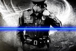 Send Me (Policeman) by Jason Bullard
