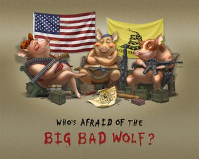 Who's Afraid of the Big Bad Wolf by Jason Bullard