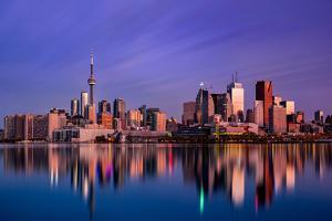 Toronto Sunrise by Jason Crockett