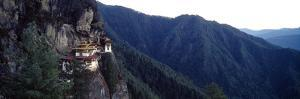 An Ancient Buddhist Monastery Perched on a Sheer Cliff Face in the Himalaya by Jason Edwards