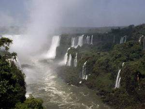 Monstrous Iguazu Waterfalls Cascade into a Subtropical Rainforest, Iguazu National Park, Argentina by Jason Edwards