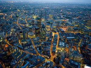 Aerial View of City of London by Jason Hawkes