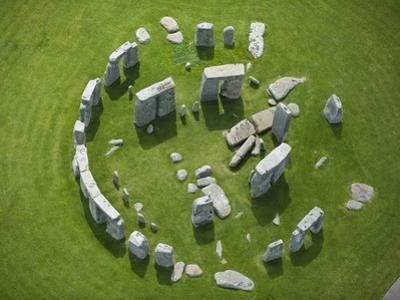 Aerial View of Stonehenge