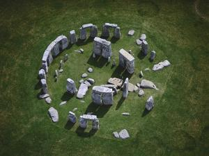Aerial View of Stonehenge by Jason Hawkes