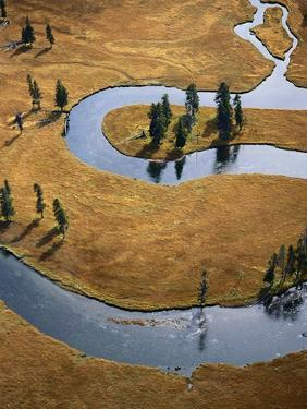Gardiner River in Yellowstone National Park by Jason Hawkes