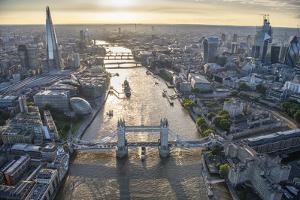 London Vista - City Bridges by Jason Hawkes