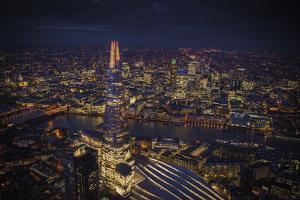 London Vista - The Shard by Jason Hawkes