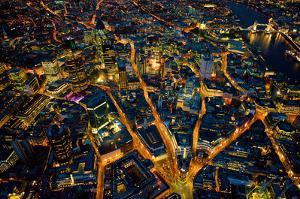 Sky View London I by Jason Hawkes