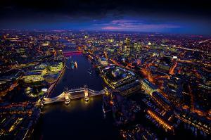 Sky View London II by Jason Hawkes