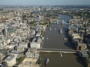 Thames River and London by Jason Hawkes