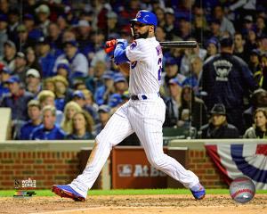 Jason Heyward Game 4 of the 2016 World Series