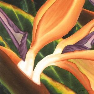 Bird of Paradise Tile III by Jason Higby