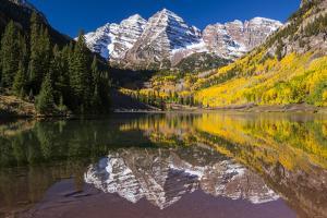 Maroon Bells Outside of Aspen, Colorado by Jason J. Hatfield