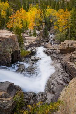 The Famous Falls in Rocky Mountain National Park, Colorado by Jason J. Hatfield