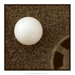 Sepia Golf Ball Study I by Jason Johnson