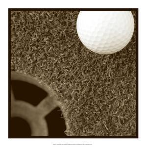 Sepia Golf Ball Study II by Jason Johnson