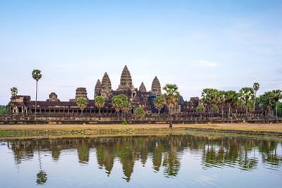 Angkor Wat, UNESCO World Heritage Site, Siem Reap Province, Cambodia, Indochina by Jason Langley