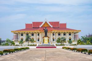 Kaysone Phomvihane Museum, Vientiane, Laos, Indochina, Southeast Asia, Asia by Jason Langley