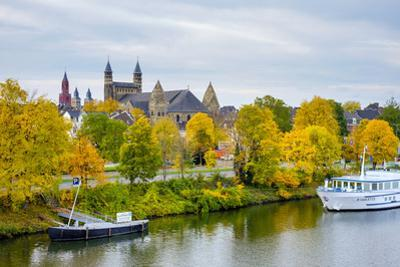 Maastricht Skyline, Onze Lieve Vrouwebasiliek (Basilica of Our Lady) in Early Autumn, Maastricht by Jason Langley