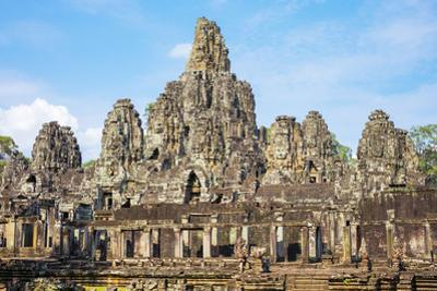 Prasat Bayon Temple Ruins, Angkor Thom, UNESCO World Heritage Site, Siem Reap Province, Cambodia by Jason Langley