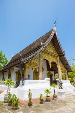 Wat Choumkhong Buddhist Temple, Luang Prabang, Louangphabang Province, Laos, Indochina by Jason Langley