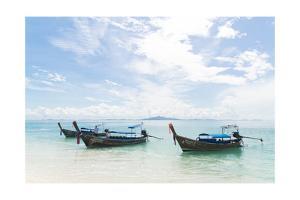 Thailand Boats I by Jason Matias