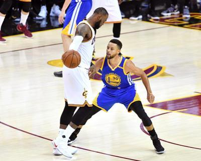 2017 NBA Finals - Game Three by Jason Miller