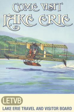 Come Visit Lake Erie by Jason Pierce
