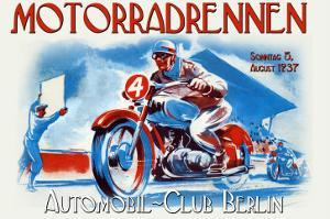 Motorradrennen - Auto Club Berlin by Jason Pierce