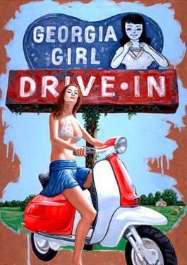 Georgia Girl - Drive in by Jason Stillman