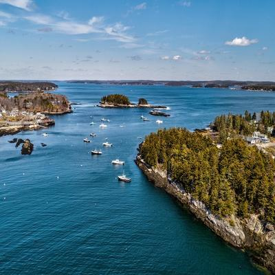 Beautiful Aerial Coast II