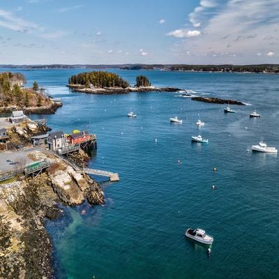 Beautiful Aerial Coast III